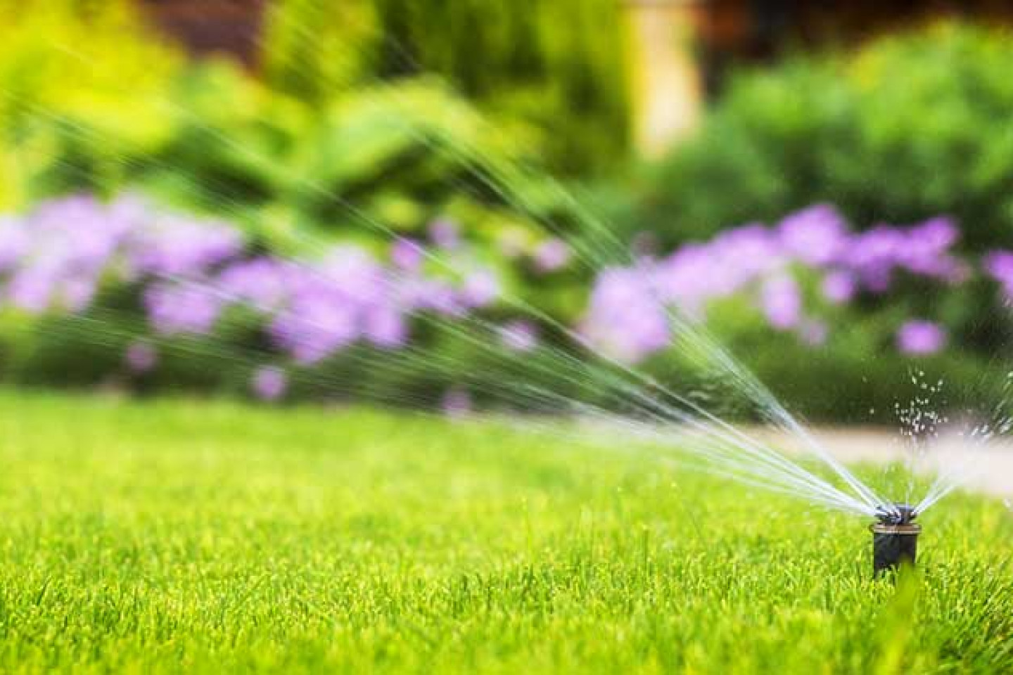 lawn irrigation installation cary nc