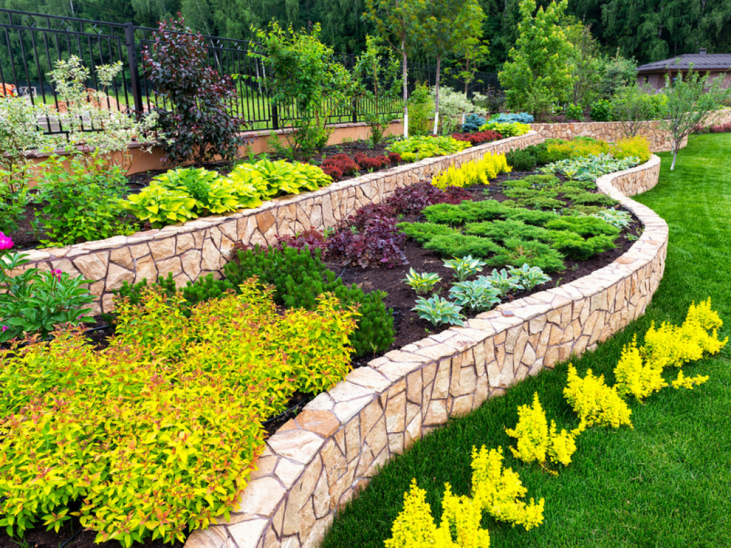 Install Custom Landscaping Features